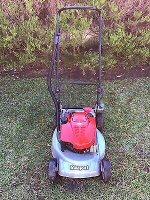 AU275 • Buy MASPORT 600ST Lawn Mower 4 Stroke Petrol Engine 2 In 1. Pick Up Only Melbourne.