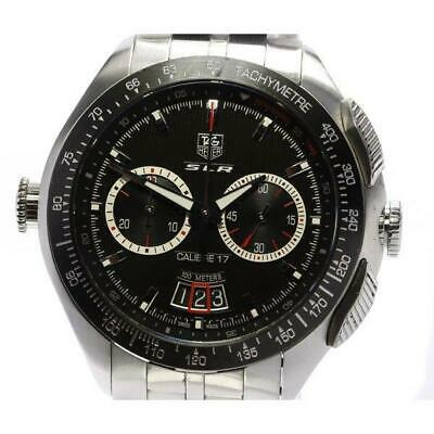 £1850.60 • Buy Tag Heuer SLR Caliber 17 Mercedes-Benz CAG2010 Automatic SS Men's Watch[b0517]