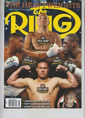 $9.75 • Buy The Heavyweights Ring Magazine May 2018 No Label Tyson Fury Deontay Wilder