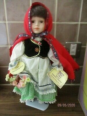 Regency Special Collector's Edition Porcelain Doll Little Red Riding Hood  • 5.95£