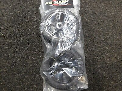 ANSMAN VIRUS 1/8 Scale Wheels And Tyres Black 5 Spoke 1 Pair • 16.99£