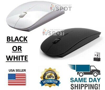 $5.49 • Buy 2.4GHz USB Wireless Optical Mouse Mice For Apple Mac Macbook Pro Air PC