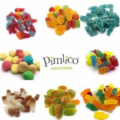 PIMLICO 100% HALAL Sweets Mix Retro Candy HMC Certified VEGAN MADE IN UK • 3.95£