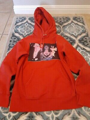 $ CDN601.47 • Buy SUPREME MADONNA Hoodie Red Size: Small RARE