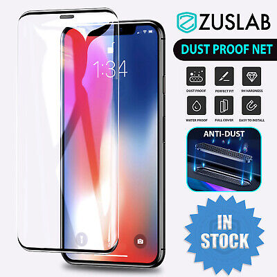 AU7.95 • Buy IPhone 11 Pro XS MAX XR X  Anti-Dust Tempered Glass Screen Protector For Apple
