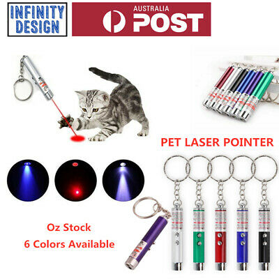 AU4.95 • Buy Mini Cat Dog Pet Toy Red Laser Light LED Pointer Pen Lazer Interactive Training