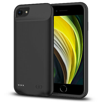 AU65.54 • Buy Smart & Slim Battery Case For IPhone SE2020, 6000mAh Power Bank Charger Cover AU