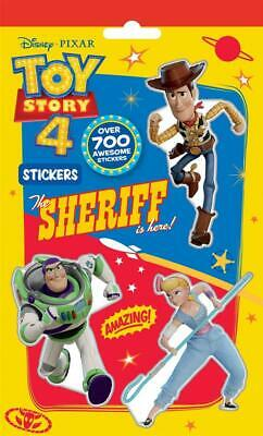 Disney Toy Story 4 700 Stickers Childrens Party Bag Filler • 1.98£