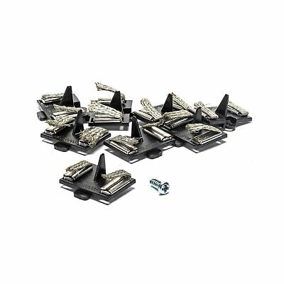 Micro Scalextric Spare Guide Blades Pack Of 8 With Screw - G8047 • 4.95£