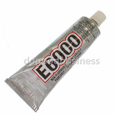 E6000 Huge 3.7 Oz ADHESIVE GLUE JEWELRY Huge Big BOOKING CRAFT Big Glue 110ml • 8.99£
