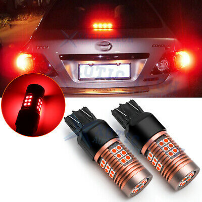 $8.99 • Buy 7443 7440 LED Brake Tail Light Bulbs Red For Nissan Altima Maxima Rogue Sentra
