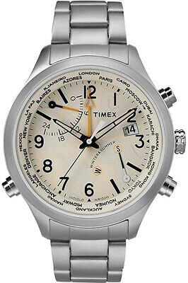 $140 • Buy Timex The Waterbury Quartz Movement Cream Dial Men's Watch TW2R43400