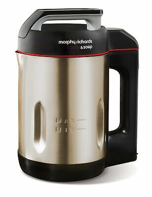 Morphy Richards Saute And Soup Maker 501014  Brushed Stainless Steel Soup Maker • 89.46£