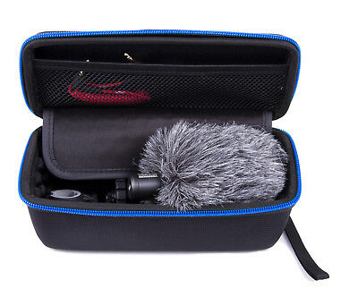 Studio Mic Case Fits Rode Videomicro Compact On-Camera Microphone And Windscreen • 12.29£
