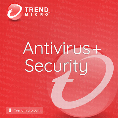 AU18.22 • Buy Trend Micro Antivirus+ Plus Security 2020 - 1 To 3 Years For 1 PC (Code Key)