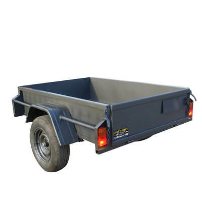 AU1190 • Buy 6x4 Heavy Duty Trailer With 15'' High Sides | Brand New Tyres | Australian Made