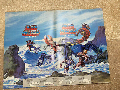 $49.95 • Buy He-Man And The Masters Of The Universe Poster 1986 21.5 In X 16 In
