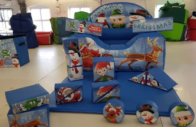18 Piece Commercial Christmas Soft Play Set (new) • 489£