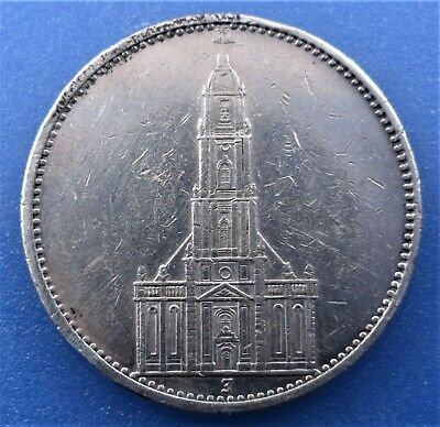 $ CDN20 • Buy German Empire 5 Reichsmark 1934 (J - Without Date) Silver
