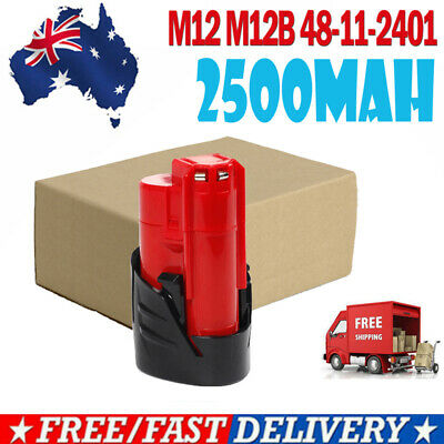 AU12.99 • Buy 12V For Milwaukee 48-11-2420 M12 Lithium Battery 48-11-2440 48-11-2402 C12 IC