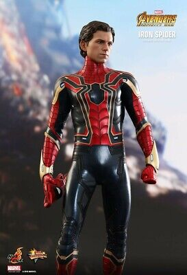 AU425 • Buy Hot Toys MMS482 Iron Spider 1/6 Scale Figure Infinity War Spiderman