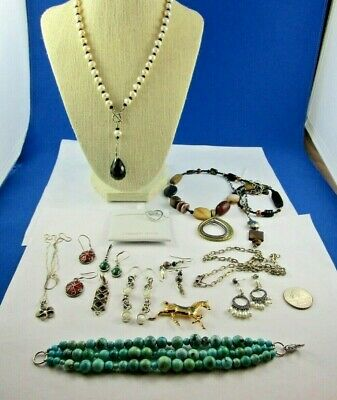 $ CDN59.36 • Buy LOT Of Gorgeous Sterling Silver Jewelry Silpada , Carol Pollack, Beau And More.