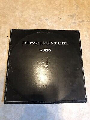 Emerson, Lake And Palmer - Works 1 DOUBLE Vinyl LP Record Prog Rock • 8.50£