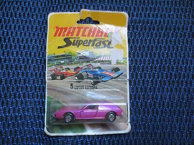$ CDN28.88 • Buy Vintage Matchbox SUPERFAST  LOTUS EUROPA No.5 By Lesney