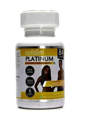 Actislim  Platinum 12 Week Supply With 2day Trail Pack Free • 52£