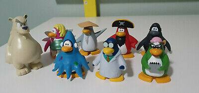 Club Penguin Toys Club Penguin Figures Character Toys Squid Doctor Fairy Polar • 36.60£