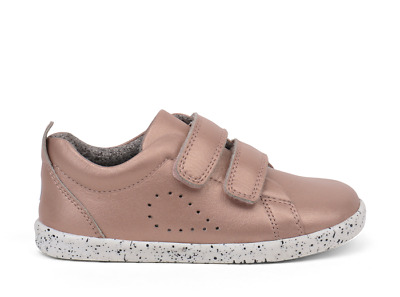 Bobux Grass Court Kid's Casual Shoes Rose Gold I-Walk And Kid+  • 49£