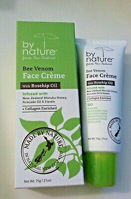 $27.95 • Buy By Nature. Bee Venom Face Cream With Rosehip Oil, 75 G.