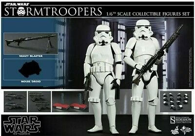 AU1099 • Buy Hot Toys Stormtroopers Star Wars Collectors Edition 1/6 Mms268 Rare Bonus Heads