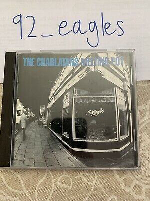 The Charlatans - Melting Pot - CD ALBUM • 1.70£
