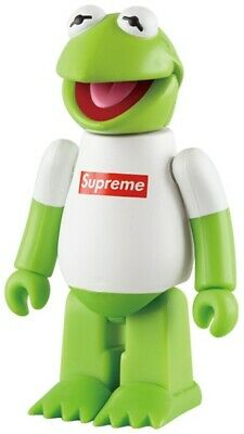 $399.99 • Buy Supreme 100% KUBRICK Bearbrick Kermit The Frog Muppets Medicom Be@rbrick Rare