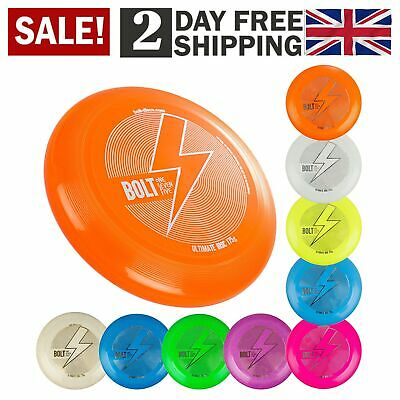 BOLT OneSevenFive Ultimate Frisbee Flying Disc Loads Of UV Colours Available • 13.44£