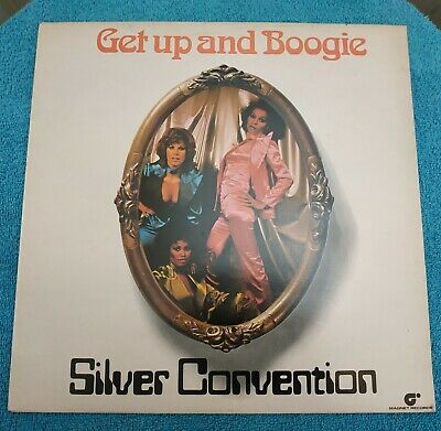 Silver Convention – Get Up And Boogie 1976 LP NM Disco Funk • 4.99£