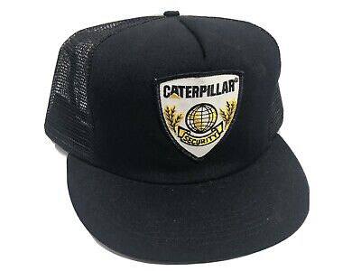 $24.99 • Buy Vintage Cat Caterpillar Hat Security SnapBack Strap Back Nos New Excellent NWT