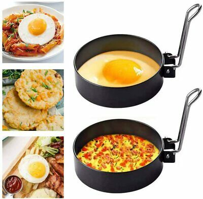 $11.95 • Buy Fried Egg Round Ring Mold Stainless Steel Non-Stick Egg Mould For Egg, Pancakes