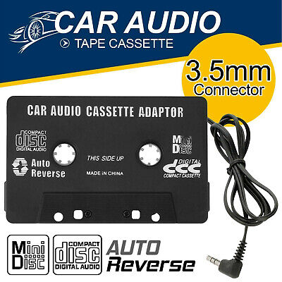 £2.99 • Buy NEW Car Audio Adapter Tape Cassette Mp3 CD Radio 3.5mm Jack AUX For IPod IPhone