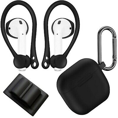 $ CDN13.05 • Buy AirPods Case Cover With Keychain, AirFit Silicone Charging Case, Ear Cover Ea...
