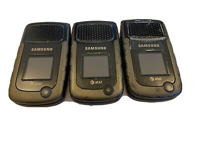 $ CDN94.72 • Buy Lot Of 3 Samsung  SGH-A847 Rugby II Cellular Phone - Black