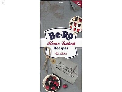 NEW Be-Ro Home Baked Recipe Book 41st Edition. • 4.99£