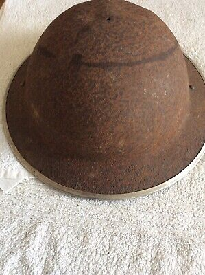 Genuine 1914 - 18 WW1 Tommy British Helmet • 35£