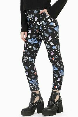 $48.78 • Buy Black Milk Clothing Hauntingly Cute Cuffed Pants, Size Small