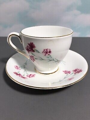 $12.95 • Buy Vintage Clare Bone China Tea Cup And Saucer Made In England