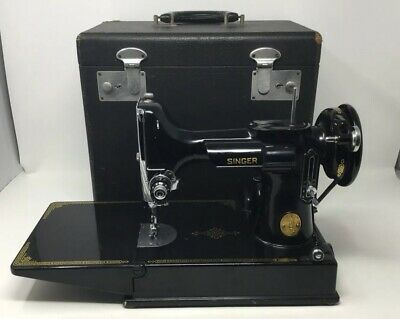 $250 • Buy Vintage 1950 Singer 221 Featherweight Sewing Machine With Original Case!