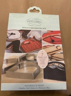 Fiona Cairns Handbags & Shoes Biscuit Decorating Kit • 12.50£