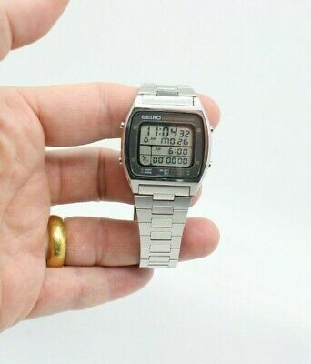 $ CDN329.50 • Buy Vintage Men's Seiko Digital Running Man A714-5009 Lcd Chronograph Watch