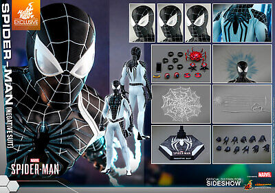 $319 • Buy Spider-Man (Negative Suit) Sixth Scale Figure By Hot Toys